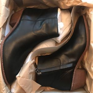 Madewell Charley black leather boot 6.5